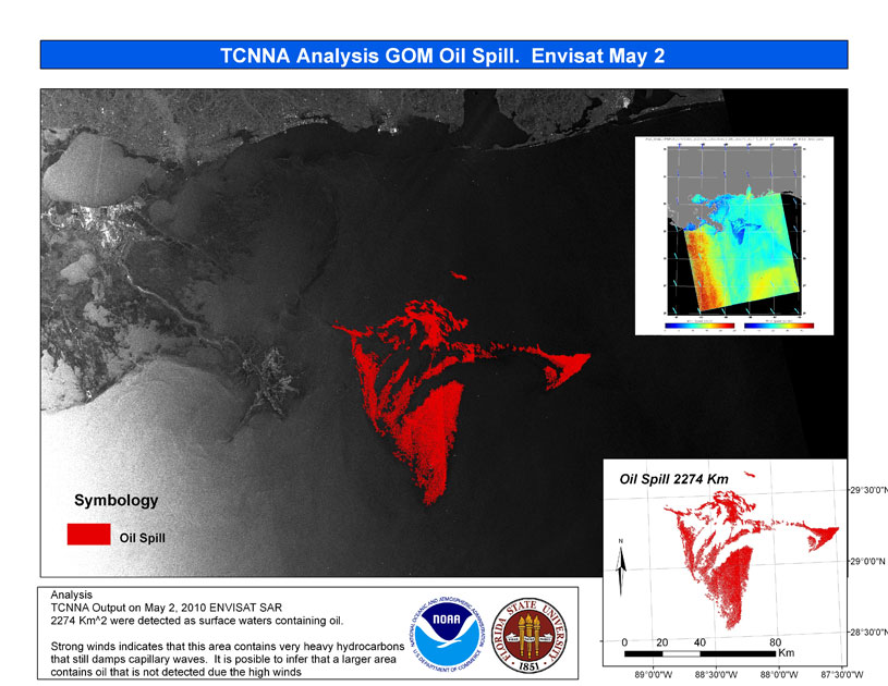 TCNNA Analysis Map